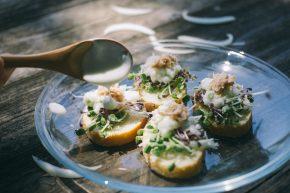 芽菜鮪魚吐司