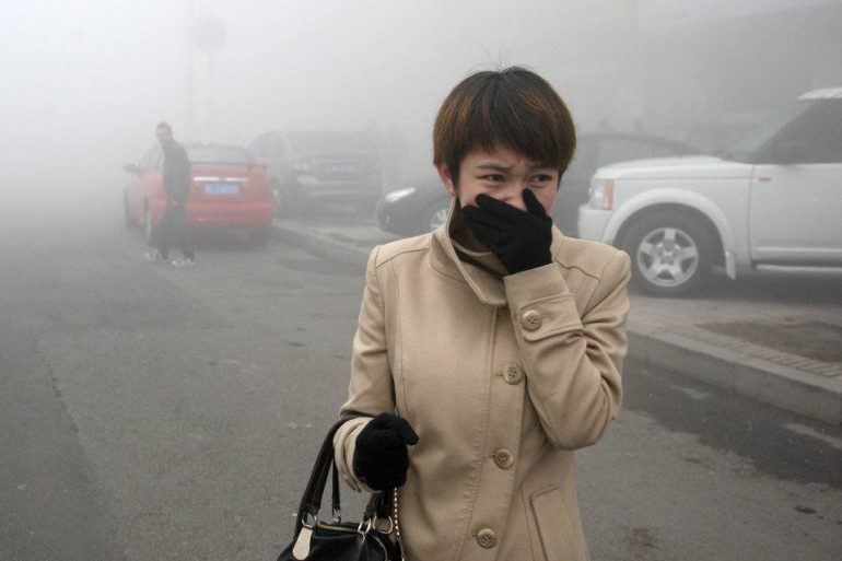 Heavy Fog Hits Northeast China